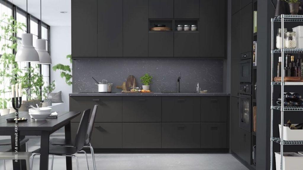 Kungsbacka Recyclee Meuble Cuisine Cuisine Ikea Noire Cuisine Ikea