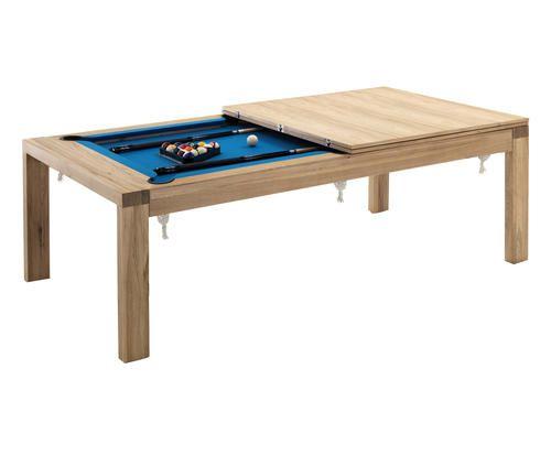 Tavolo da biliardo in legno karamobla 12x234x77 Colore naturale 229000 - Prezzo