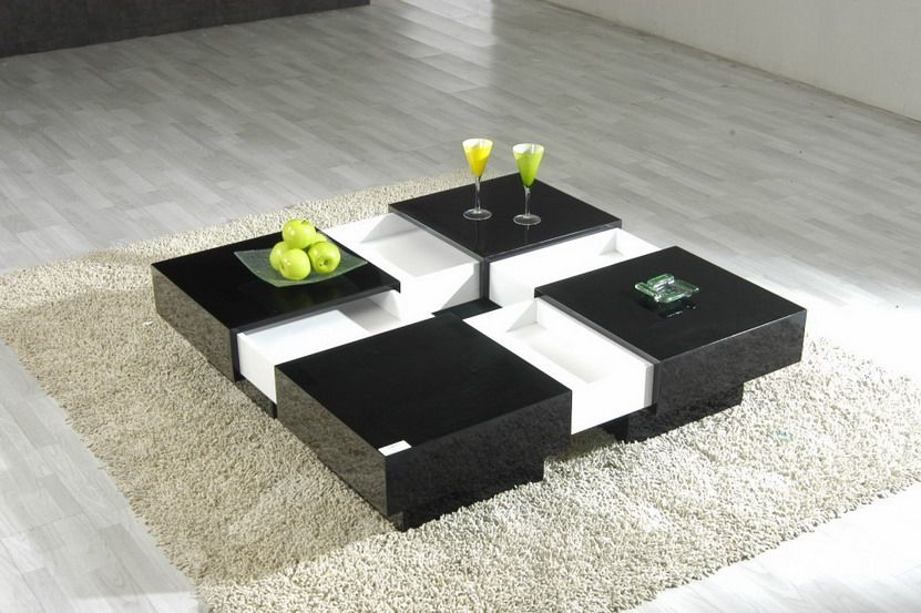 Comfortable Coffee Tables In Japan Design  Interior Design Magnificent Modern Center Table Designs For Living Room Design Decoration