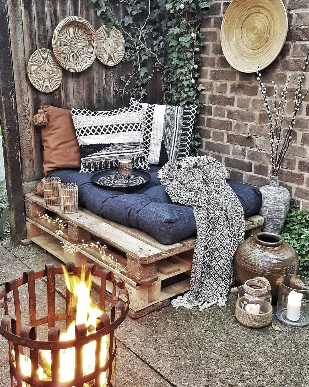 """Photo of Scandi bohemian interiors on Instagram: """"What says summer to you on an average day (and I don't mean on vacation)? The smell of freshly cut grass works for me every time☺  The…"""""""