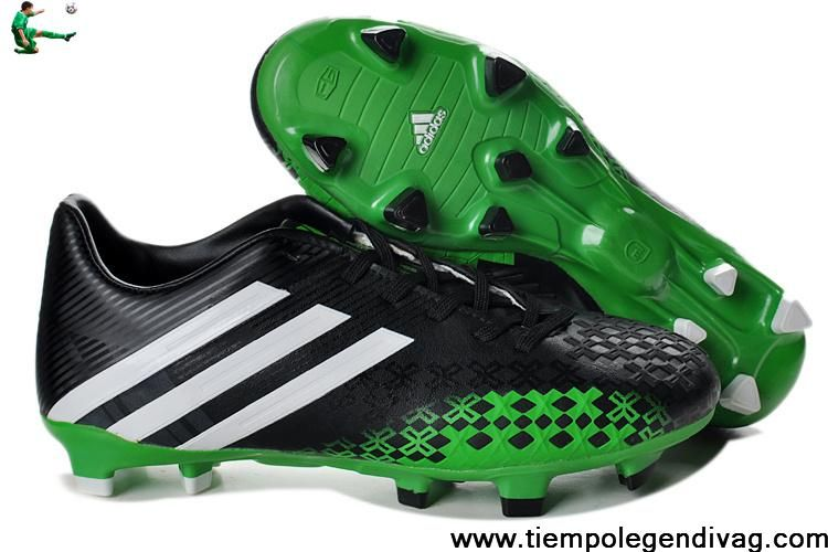 Buy 2013 adidas Predator LZ TRX FG Boots Black Green Soccer Shoes For Sale b336fa1d8b
