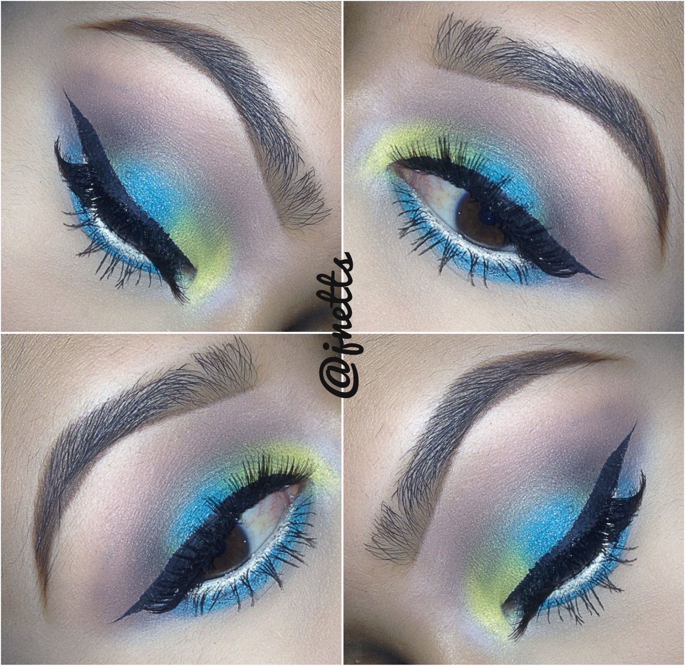 Summer eyes Maquillaje