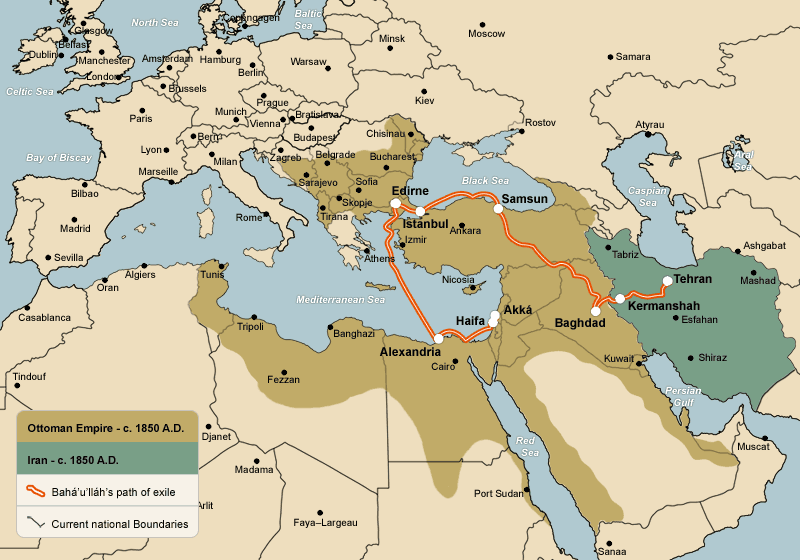 Where Was the Ottoman Empire | Ottoman Empire On World Map | Maps