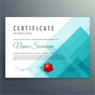 Free Vector Design Certificate Of Achievement Templates HttpWww