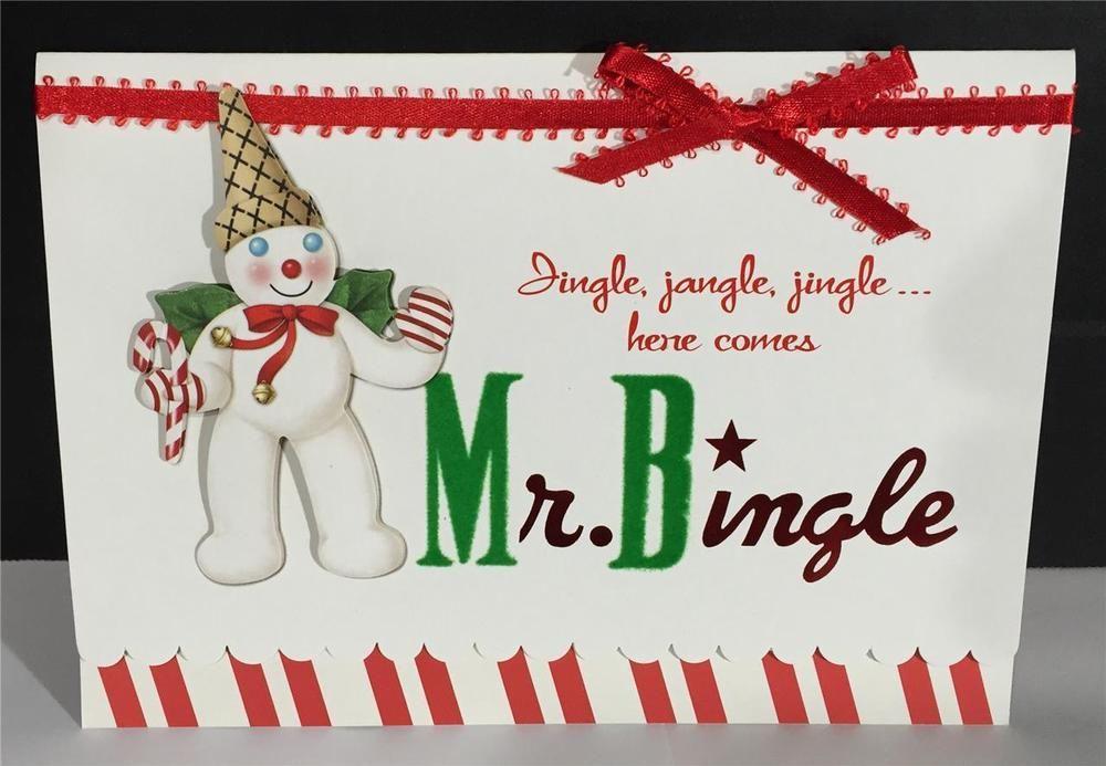 Mr Bingle Christmas Cards Box of 10 Gibson Dillards Maison Blanche ...