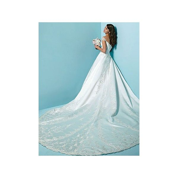 Detachable Cathedral Train Wedding Gown: Wedding Dresses With Detatchable Trains