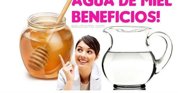 SaludComo: Bebeficios de beber agua de miel