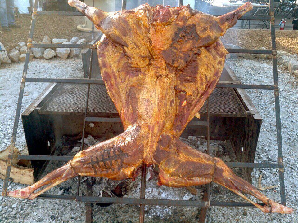 how to butcher a llama