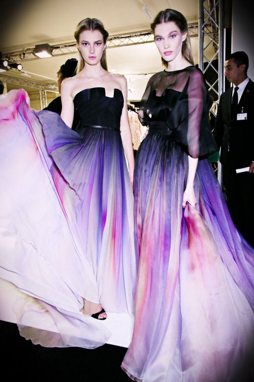 Fuck Yeah Fashion Couture | Backstage Elie Saab Haute Couture Spring 2014