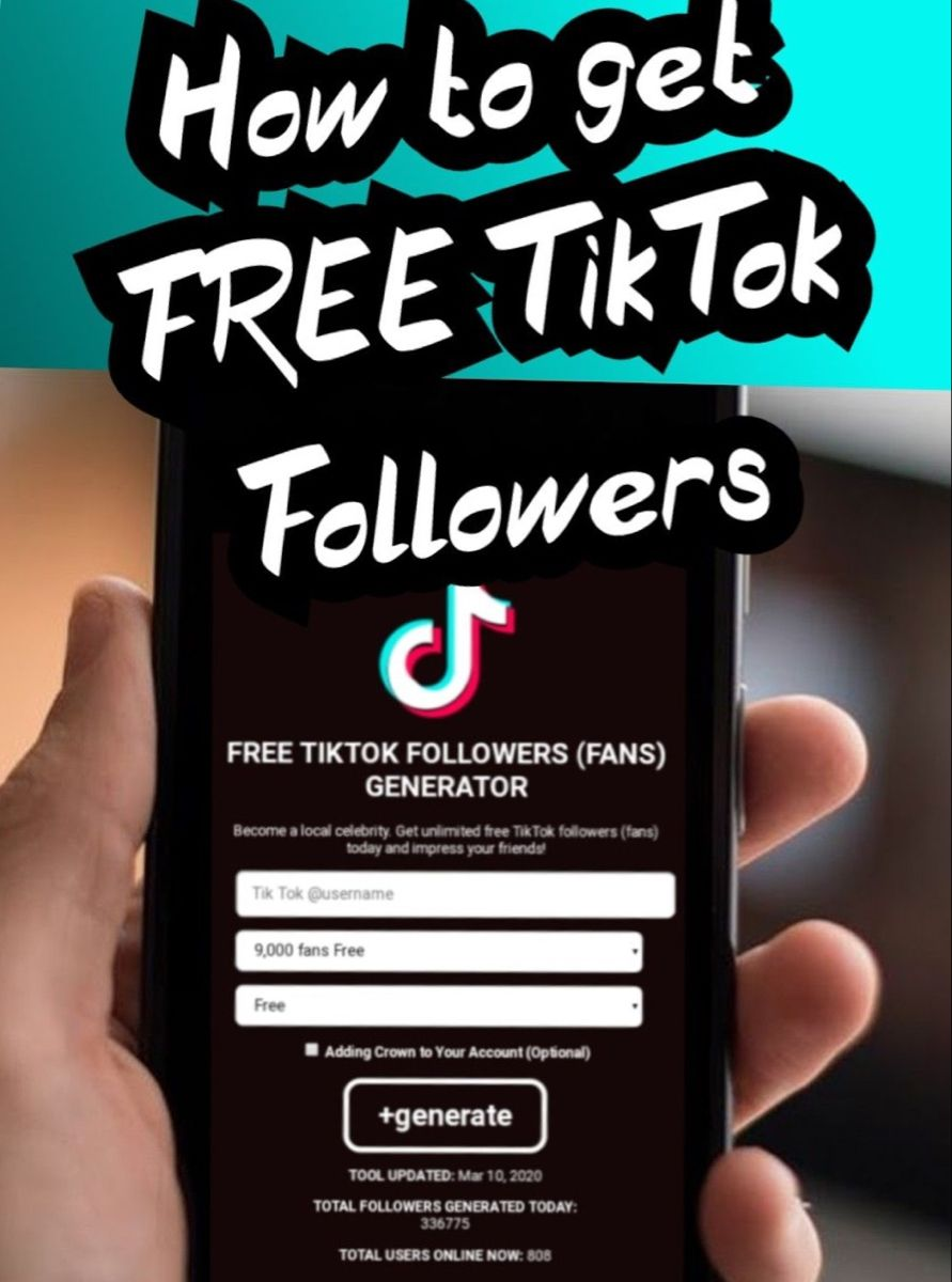 Pin On Tiktok Free Followers