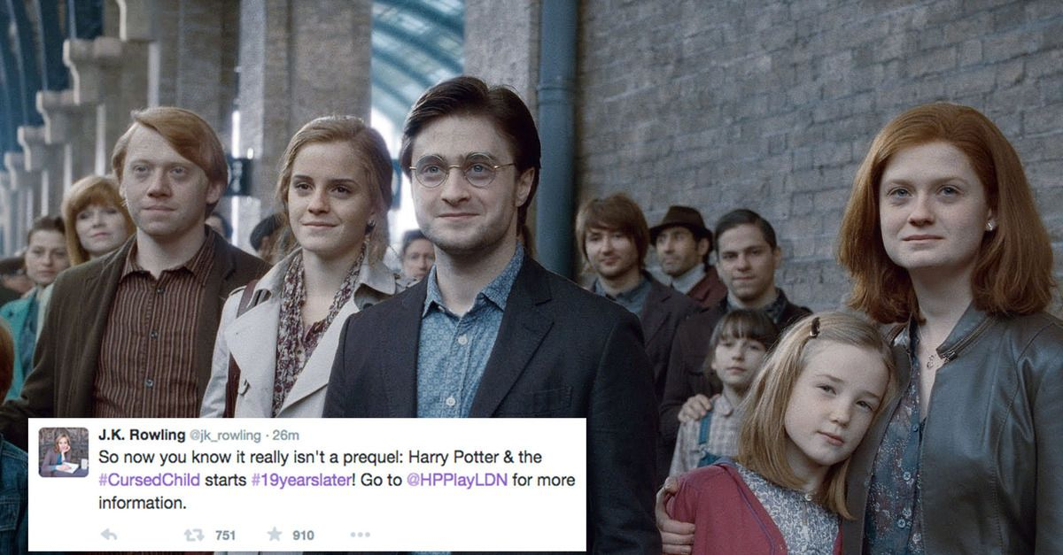 The Harry Potter And The Cursed Child Synopsis Is Here And There Are Major Implications Harry Potter Sequel Harry Potters Son New Harry Potter Movie