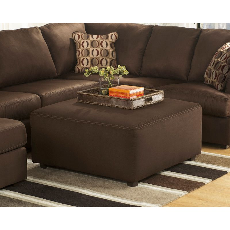 buy Signature Design by Ashley Cowan Oversized Ottoman in Cafe