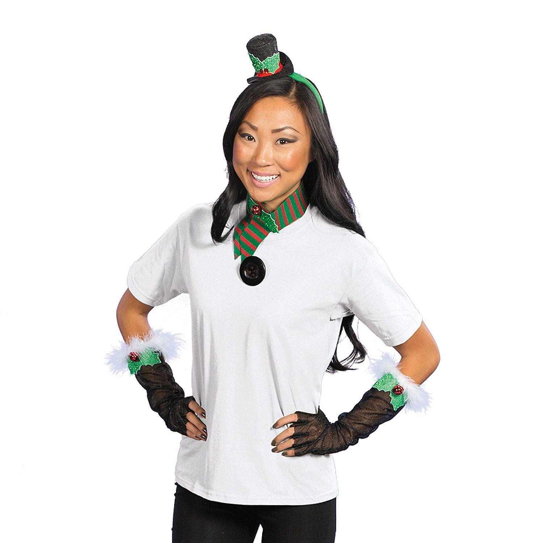Snowman Costume Accessory Set  Snowman costume Costume accessories