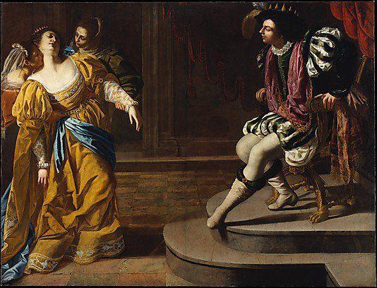 The Metropolitan Museum of Art, New York - Artemisia Gentileschi (Italian, 1593–1651/53) | Esther before Ahasuerus