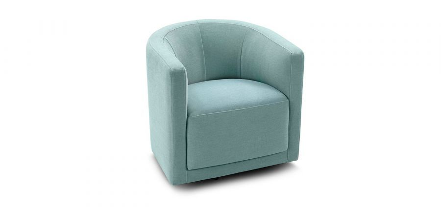swivel chair king living extra large adirondack chairs oliver tub accent round armchair