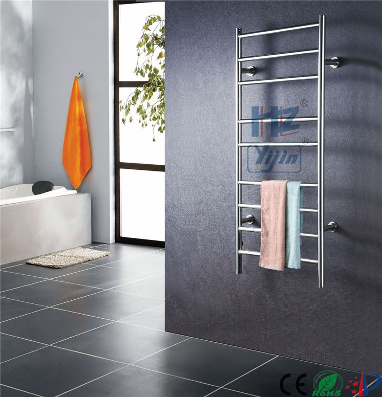 New stainless steel bathroom shelf electric towel