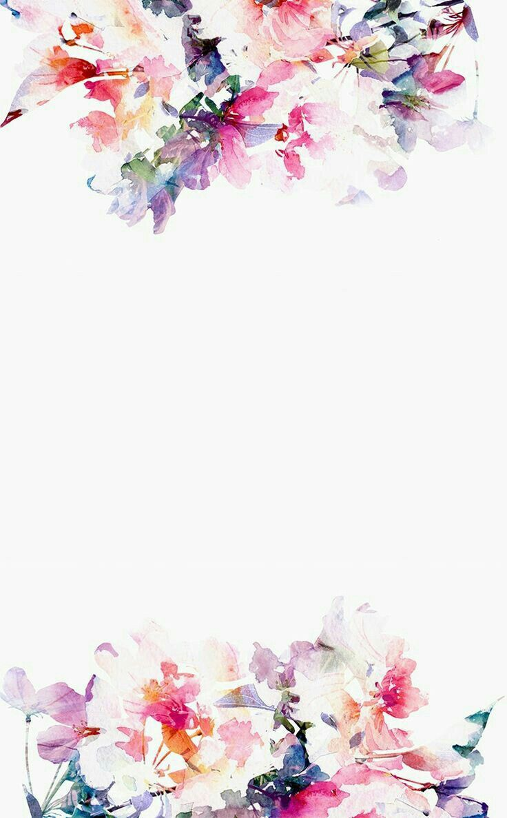 Pinterest Anahi Watercolor Flowers Iphone Background
