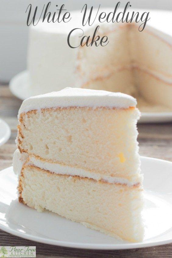 White Almond Wedding Cake.Recipe For White Wedding Cake Pear Tree Kitchen Cakes Cookies