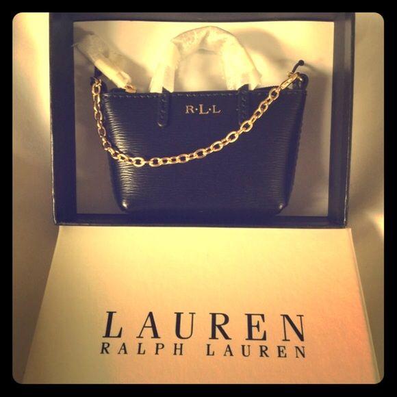 38308d8bd9 Ralph Lauren mini bag Brand new Ralph Lauren mini bag. It s beautiful!  Zipper