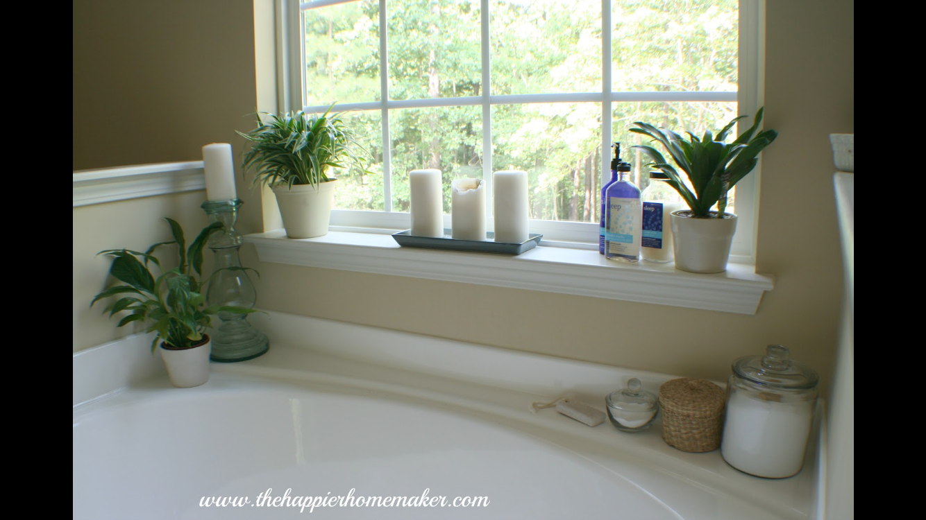 Garden tub decor  Pin by Katherine White on For the Home  Pinterest