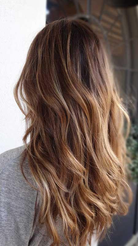 30+ Bilder von Sweeping Long Frisuren #blondeombre