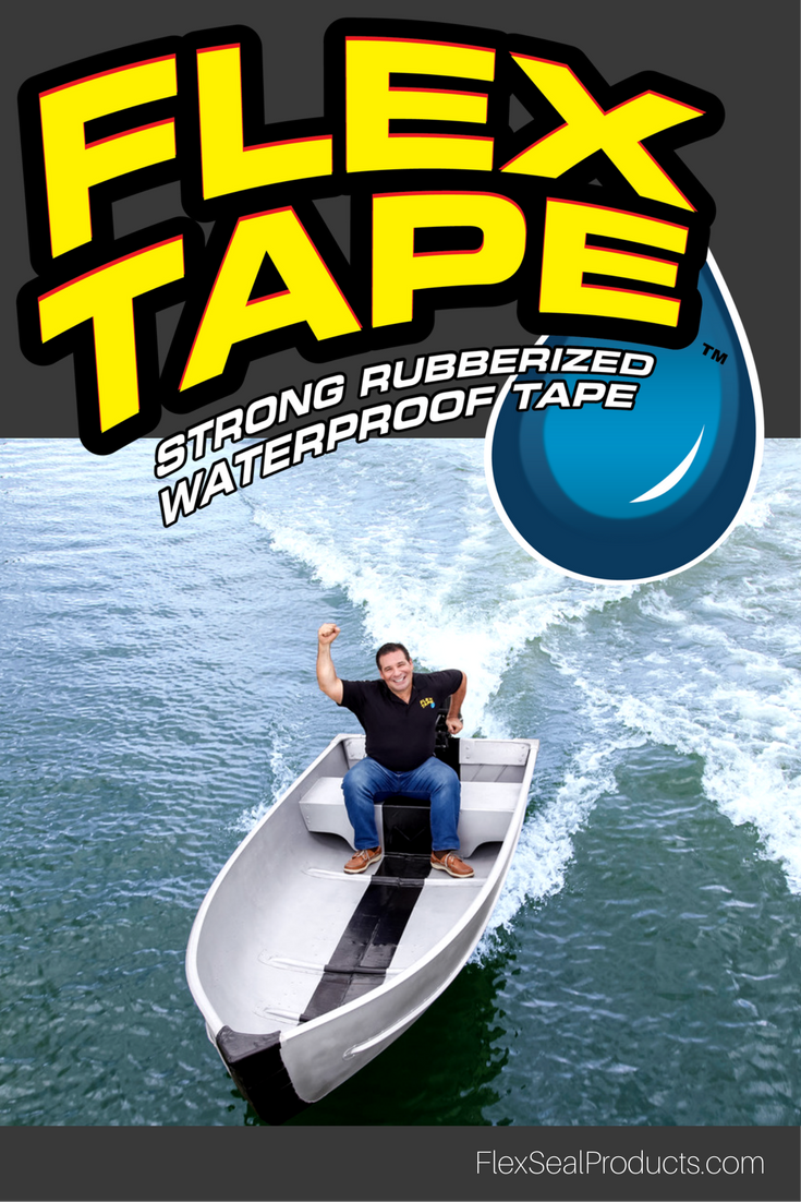 Flex Tape Is A Super Strong Rubberized Waterproof Tape That Can Patch Bond Seal And Repair Virtually Everything Flex Tape Memes Waterproof Tape Phil Swift