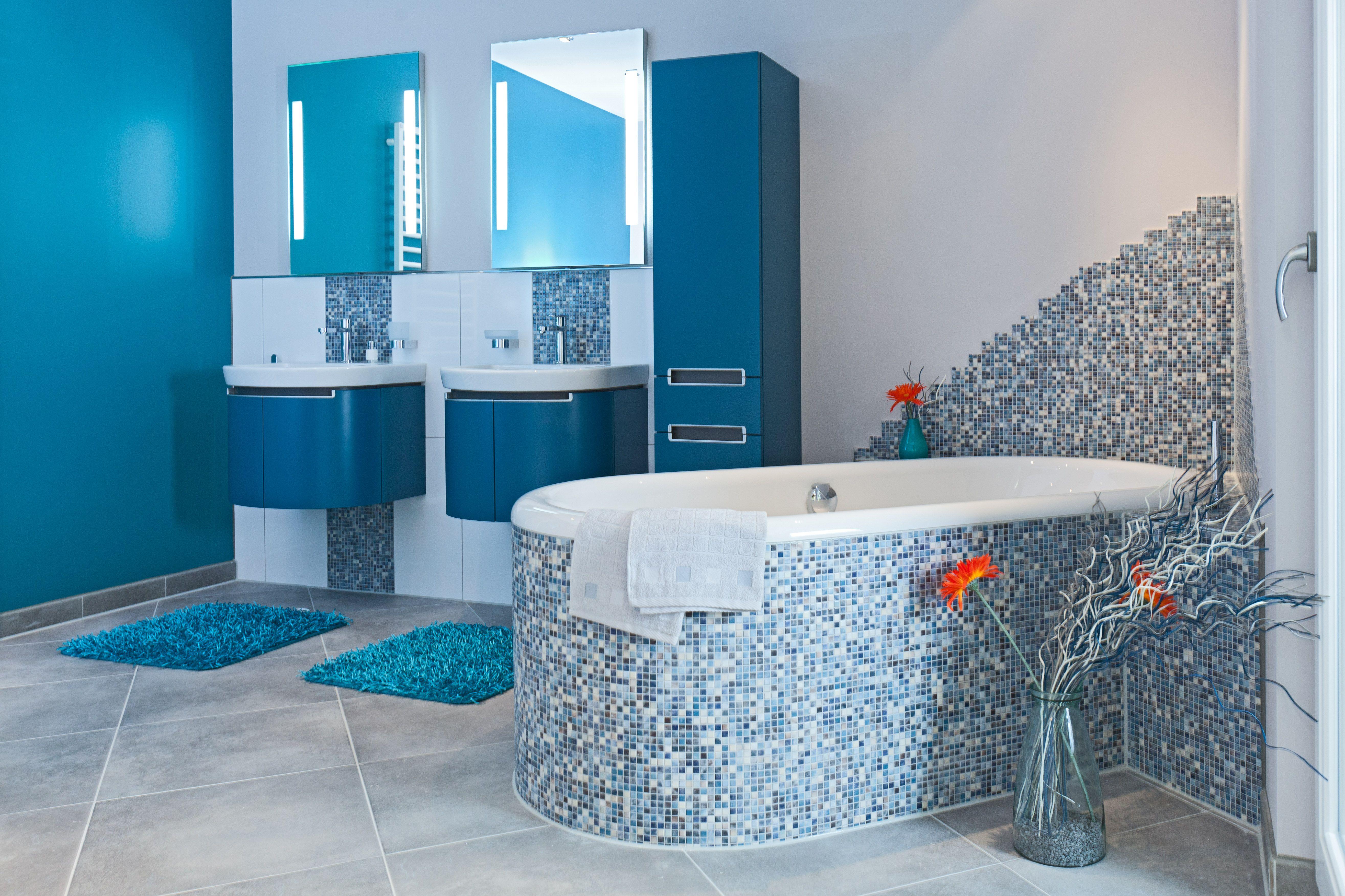 Bad Design Home Wellness Style Badezimmer Kleine Gaste Wc Und Bad