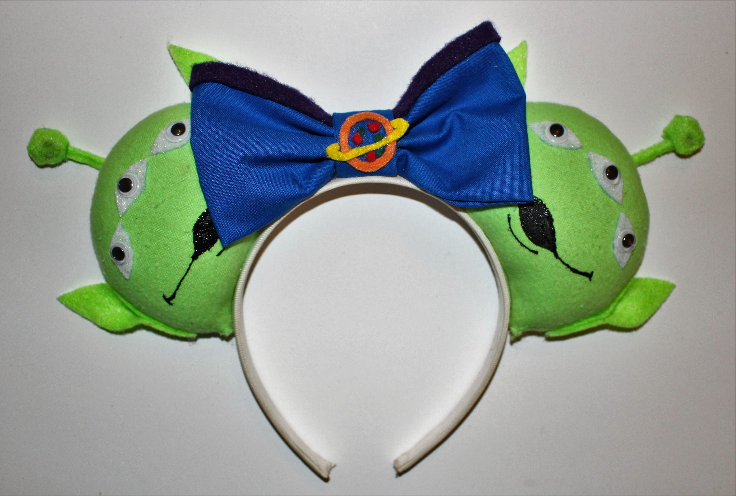 Toy Story Alien Inspired Mouse Ears Ready To Ship Disney Ears