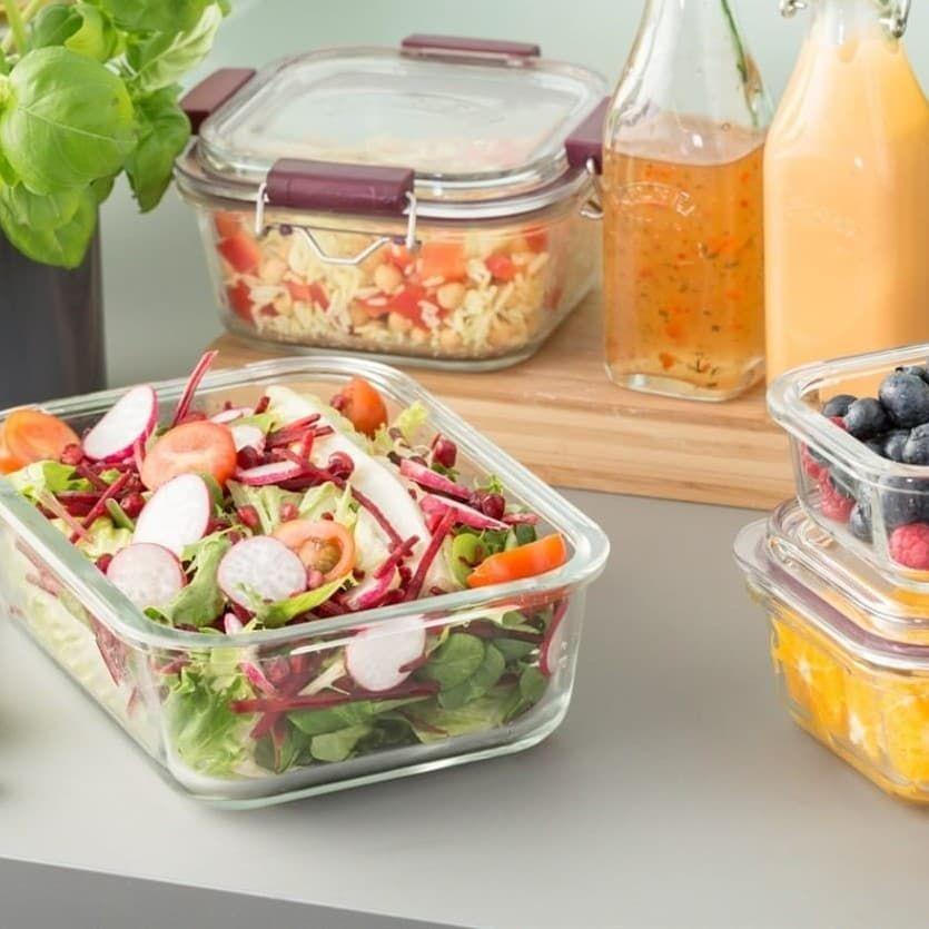 Tupper De Vidrio Hermético 0 75 L Tienda Online Cero Residuo Alimentos Comida Preparación De Comida