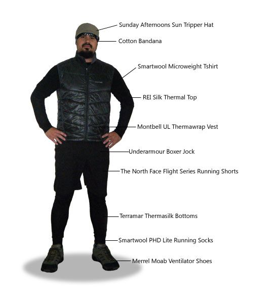My Lightweight Backpacking Clothing System | Ultralight