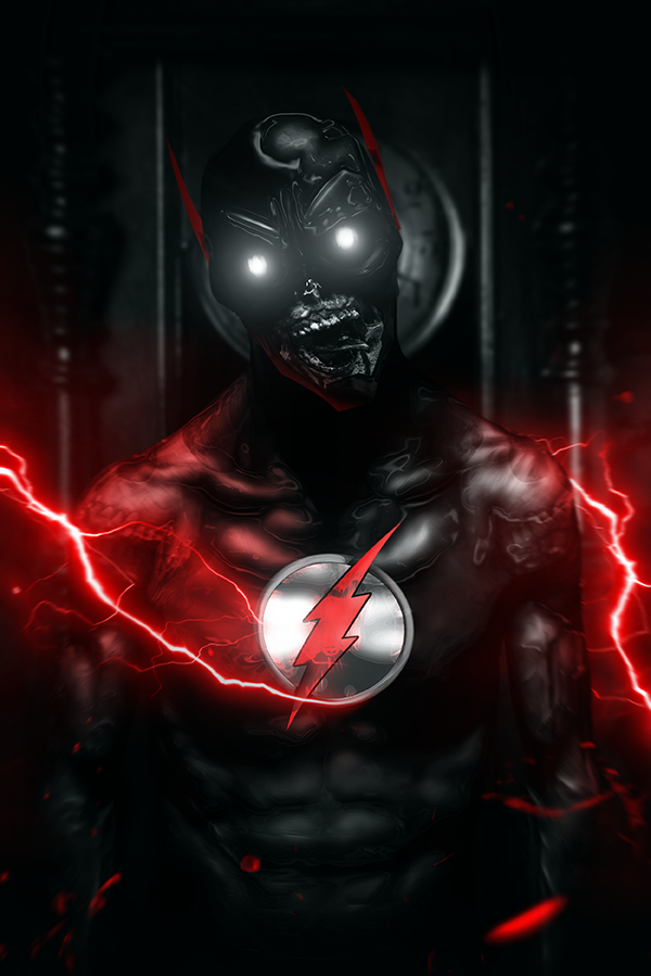 Bosslogic On Flash Wallpaper Superhero Art Black Flash Cw