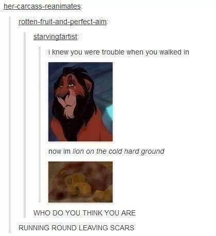 These posts captures things you never noticed and some of your favorite moments from Disney movies.