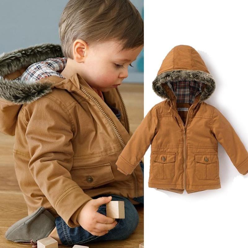 http://babyclothes.fashiongarments.biz/ Manteau Garcon Boys Winter ...