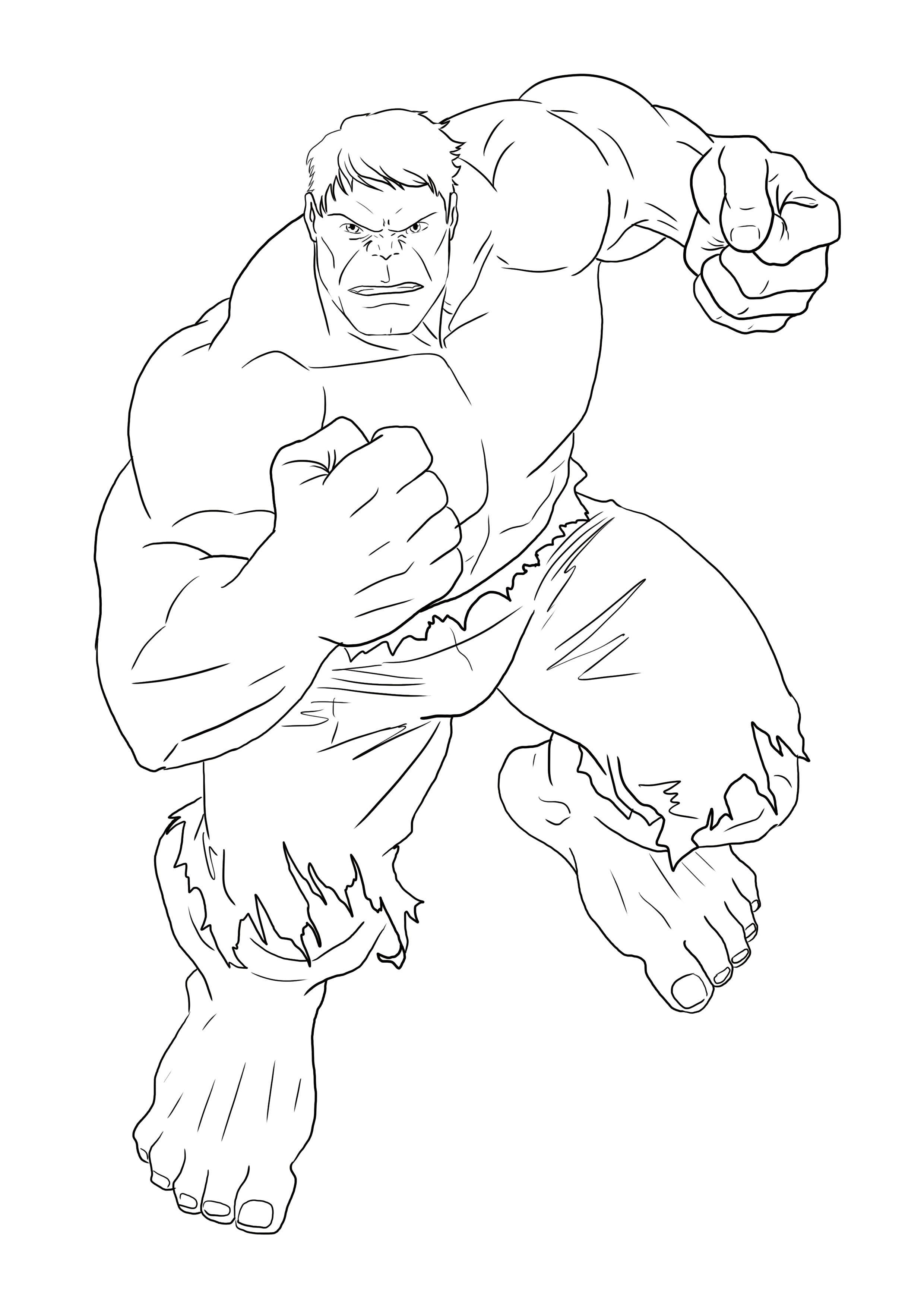 Realiser Un Dessin De Hulk Dessin Hulk Coloriage Hulk Coloriage Super Heros