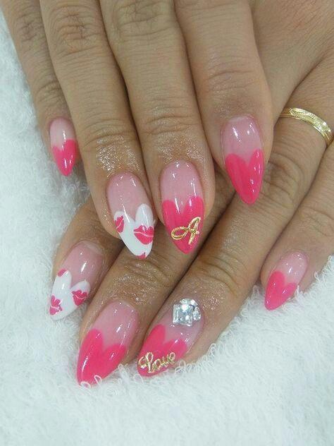Uñas Porcelana Y Esmalte En Gel 30 Pointy Nails Trendy