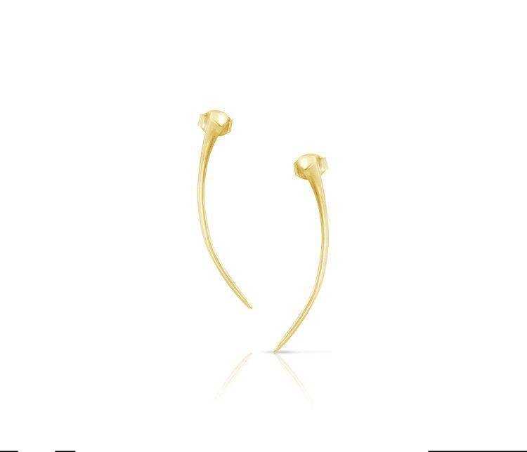 Enji Alta Earrings - 14kt White Gold TIeq1wPL7