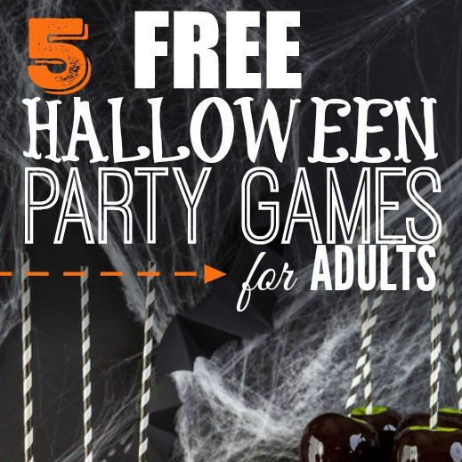 Halloween Event Ideas For Adults: 5 Halloween Party Games For Adults That Cost Nothing