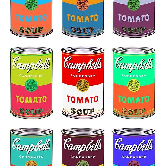 Campbell S Soup Andy Warhol By Mrjojo Andy Warhol Art Andy Warhol Pop Art Andy Warhol Artwork