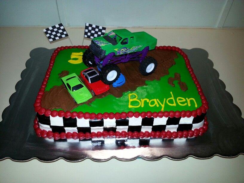 Monster Truck Cake My Cakes Truck Birthday Cakes