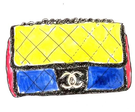 luxury amazing selection new photos chanel bag sketch | draw + paint | Cheap handbags online ...