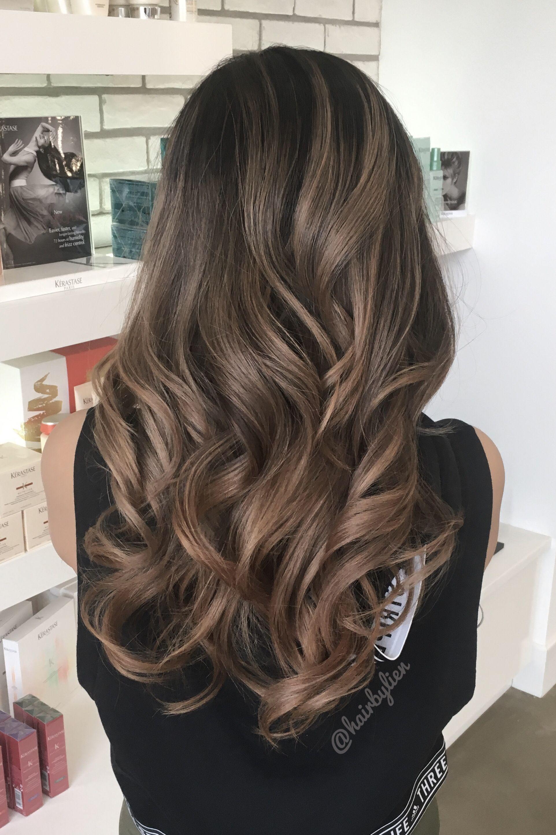 Asian Balayage Ombre Hair Color Asian Balayage Asian Hair Asian Balayage