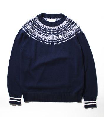 nanamica / COOLMAX® Crew Neck Sweater