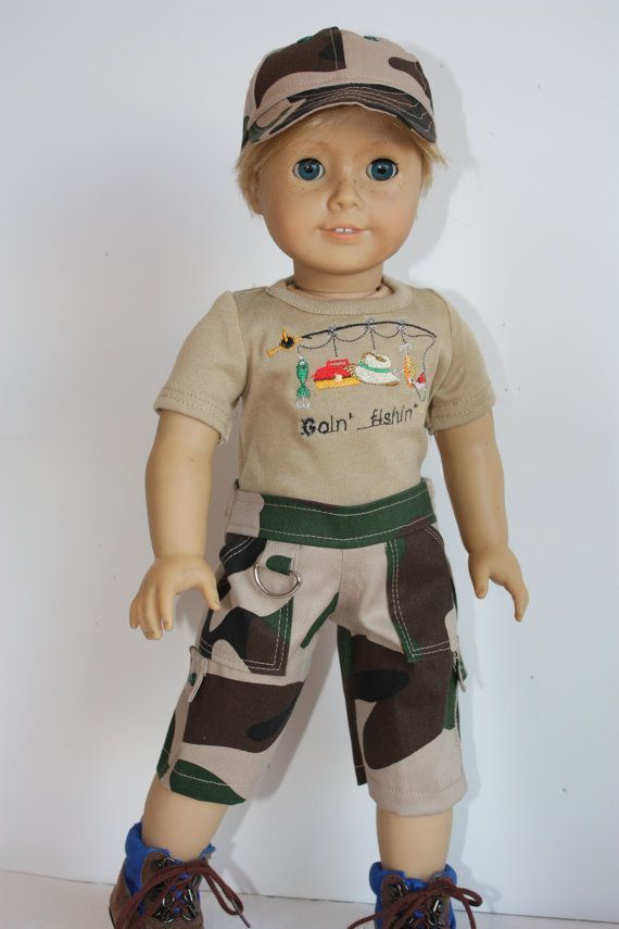 American girl doll clothes, 18 inch doll clothes, 18 inch boy doll clothes, boy camo shorts and matching baseball cap #boydollsincamo American girl doll clothes 18 inch doll by GrandmasDollCloset #boydollsincamo American girl doll clothes, 18 inch doll clothes, 18 inch boy doll clothes, boy camo shorts and matching baseball cap #boydollsincamo American girl doll clothes 18 inch doll by GrandmasDollCloset #boydollsincamo American girl doll clothes, 18 inch doll clothes, 18 inch boy doll clothes, #boydollsincamo