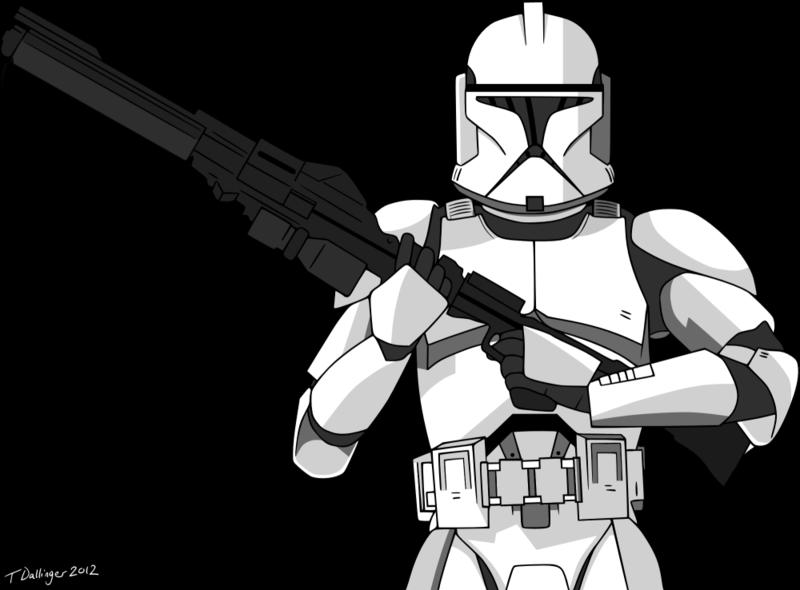 Clone Trooper Helmet Vector Clone Trooper Vector  ...