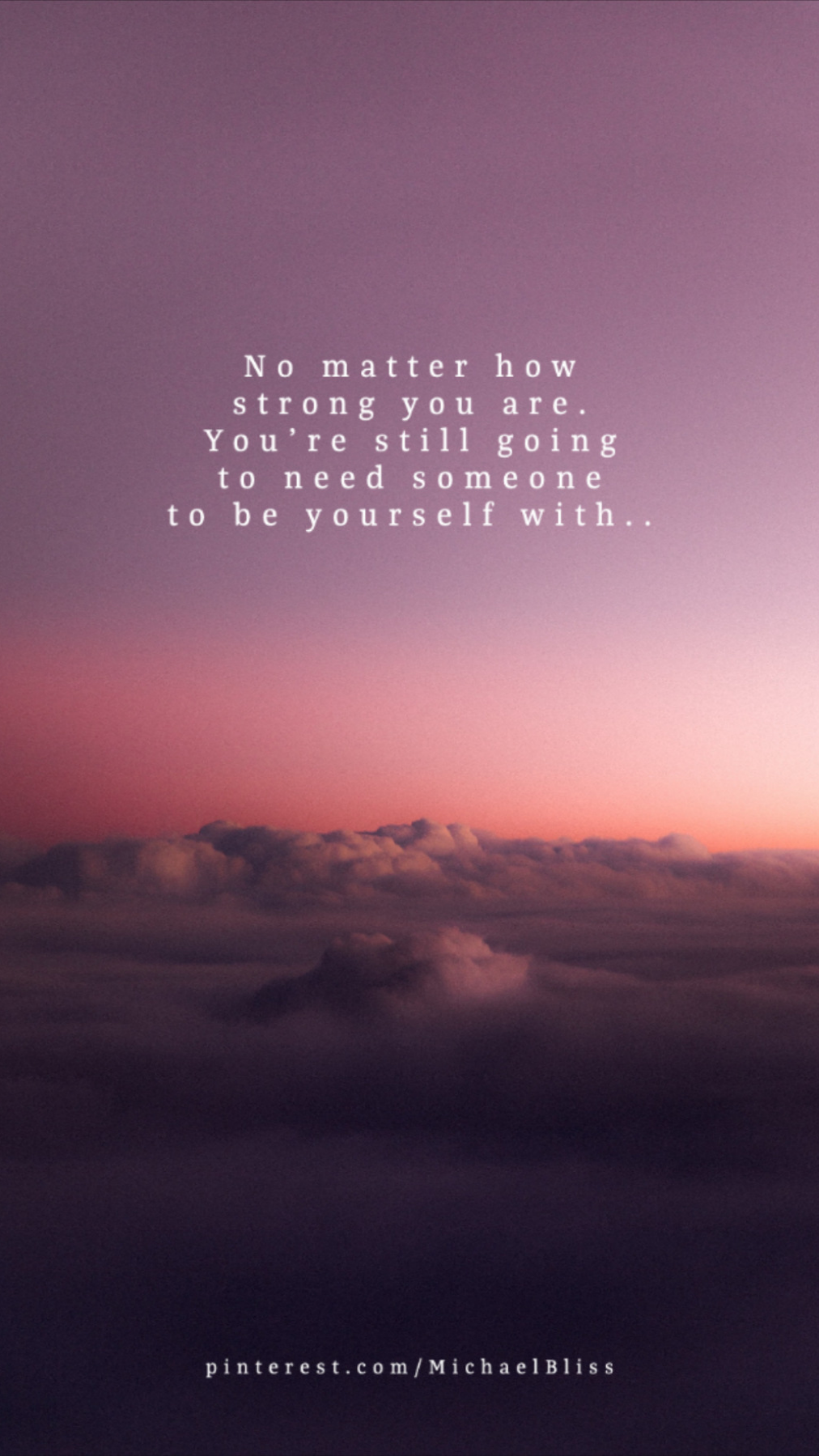 No matter how strong you are..