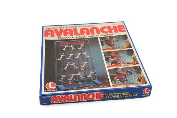 Avalanche Marble Game Vintage 1976 Lakeside Game
