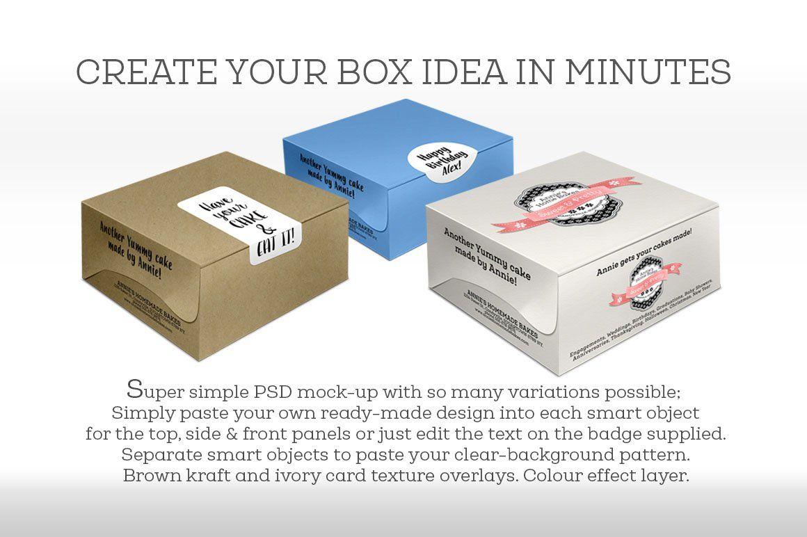 Download Cake Box Large Size Box Cake Cake Packaging Large Size