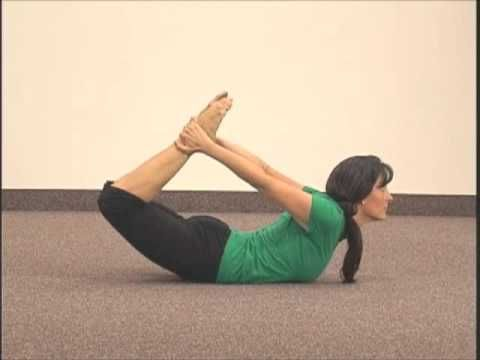"simple yoga pose chakra 3 asana 7 ""bow""spiral up"
