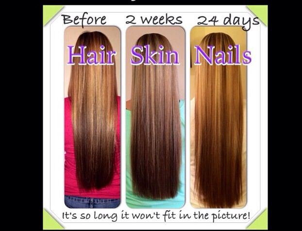 It Works! Hair, Skin, and Nails pills really does make ...