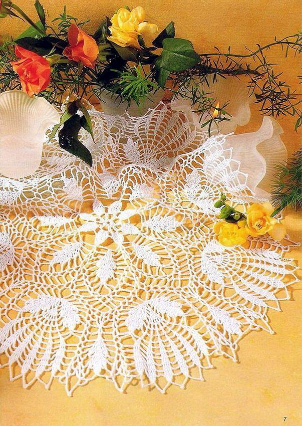 Free crochet doily pattern chema | Crochet Doilies | Pinterest